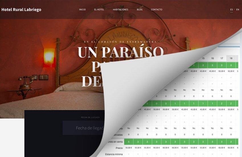 Motor de reservas hoteleras Symfony para Hotel Rural El Labriego